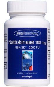 Nattokinase is a fibrinolytic anticoagulant. NSK-SD brand