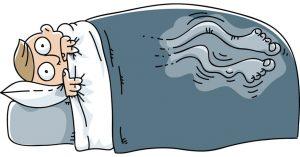 restless leg syndrome at night (periodic limb movement)