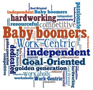 Baby boomers and aging